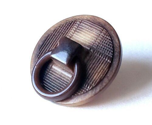 Rare Antique VI Button…Vegetable Ivory Doorknocker