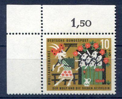 BUND BRD 408 ECKE 1 10 5 M RCHEN D GEBR DER GRIMM POSTFRISCH 1963