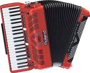 FR7X RED  PIANO ACCORDION Ascot Vale Moonee Valley Preview