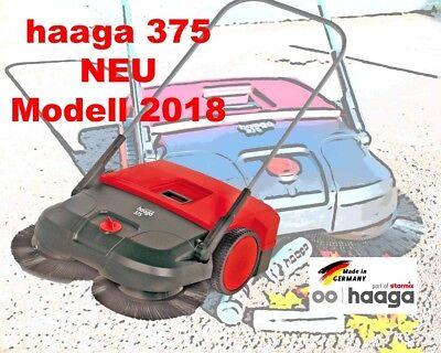haaga 375 / 475 Kehrmaschine Turbo-Kehrsystem Handkehrmaschine Tellerbesen