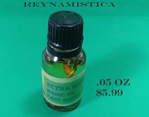 GOOD LUCK MAGIC OIL FAST MONEY - ACEITE PARA LA BUENA SUERTE 1X$5.99