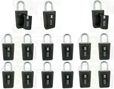 Key Storage Lock Box Realtor Lockboxes Real Estate 4 Digit Lockbox - Pack Of 15
