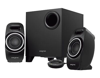 CREATIVE Wireless T3250W BLUETOOTH 2.1 Speaker System with Wired Remote [F36]