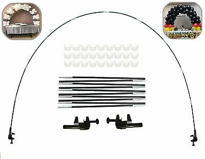 12Ft Table Balloon Arch Kit For Birthday Decorations Wedding Part BLACK 12Ft - Table Balloon Arch Kit