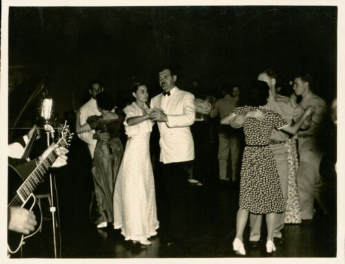 1940 Hickam Field Hawaii Photo #8, Shows of Shows, dancing