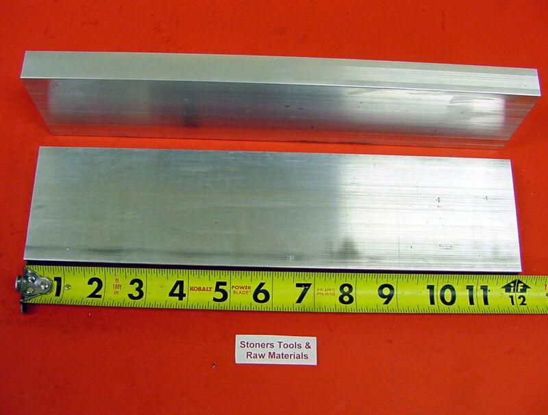 "2 Pieces 3/4"" X 2-1/2"" ALUMINUM 6061 FLAT BAR 12"" long T6511 Extruded Mill Stock"