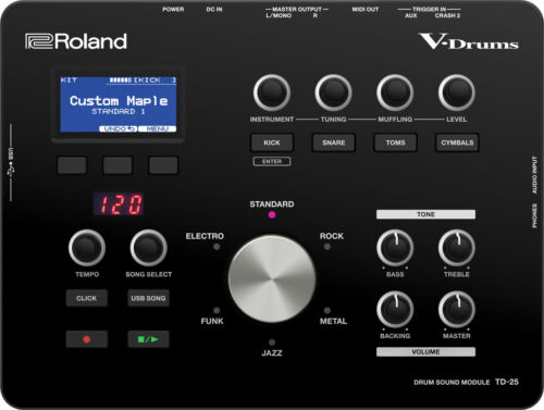 New Roland TD-25 Electronic Drum Sound Module