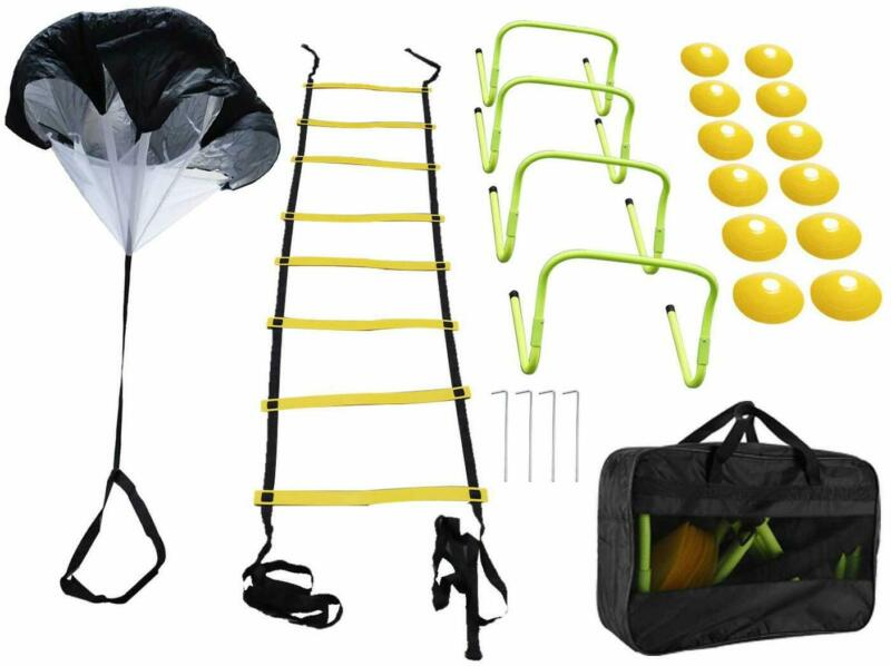 Speed Agility Training Set, Soccer Agility Ladder Training Equipment Set, USA