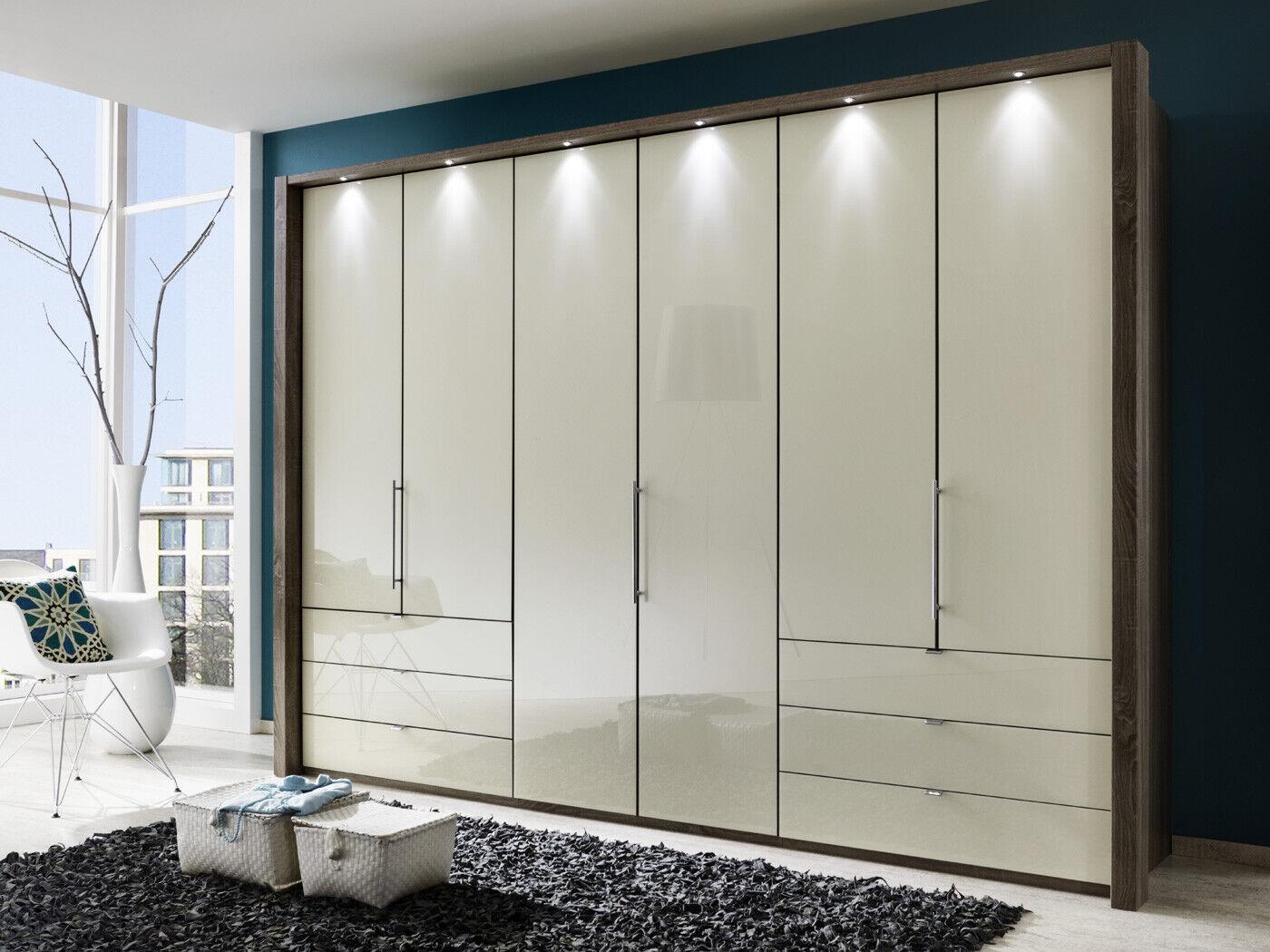 Falttürenschrank Gleittürenschrank LOFT Kleiderschränke Schlafzimmer Wiemann