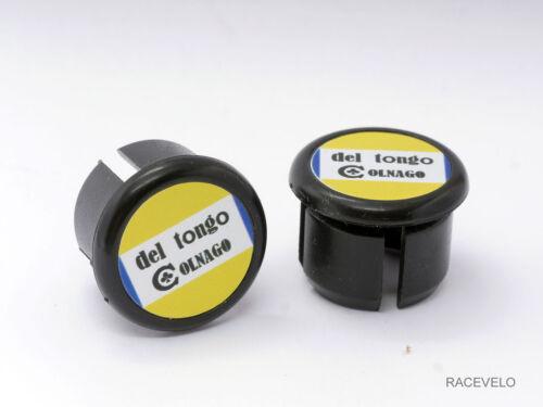 Colnago Del Tongo Handlebar Plugs Bar End Caps vintage style retro guidon buchon