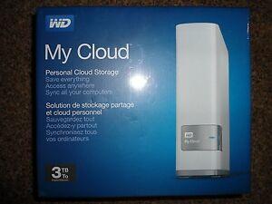 WESTERN DIGITAL WD My CLOUD 3TB Personal Cloud Storage External Hard Drive (NAS)