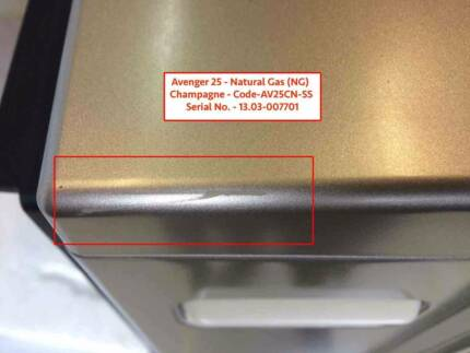 1 x Almost Perfect Avenger 25 - Natural Gas - Champagne Heater Caringbah Sutherland Area Preview