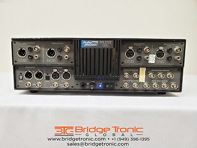 Audio Precision Sys 2722 A System Two Cascade Plus Audio Analyzer