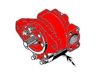 D48950 Complete Hydraulic Pump Fits Case 480b 480c 580b 580c