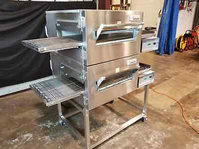 Lincoln Impinger Double Stack 1132 Pizza Conveyor Oven
