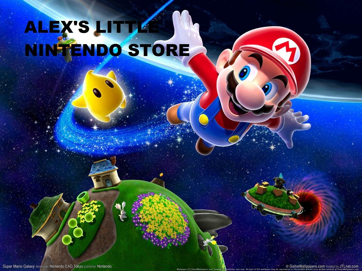 ALEX'S LITTLE NINTENDO STORE