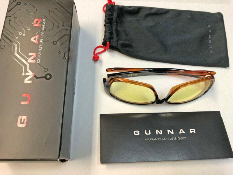 Gunnar Optiks Micron 24k Dark Ale Amber glasses computer eyewear