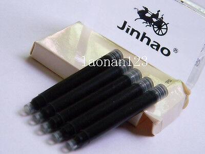 10pcs Jinhao fountain pen ink cartridges Black  New+ Brand assurance