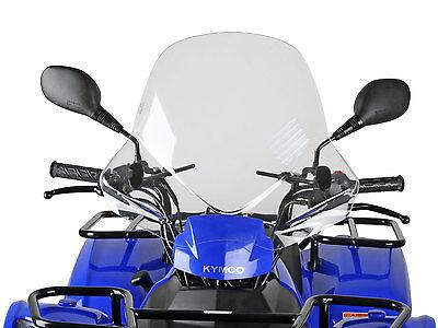 Windschild Windschutzscheibe Speeds mit ABE für ATV Quad KYMCO MXU 250