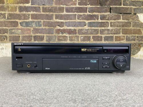 Sony MDP-455 CD CDV Laserdisc Player