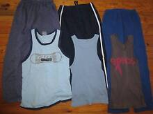 20 Boy Jeans TrackPants Singlets TShirts Bonds Cotton Sz8-12yrs Phillip Woden Valley Preview