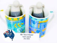 Mr Tea Coffee Infuser tea / Reusable Eco friendly 2 pack Strainer Geelong 3220 Geelong City Preview