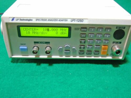 Lp Technologies Lpt-1250 Portable Spectrum Analyzer Adapter