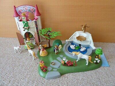 Playmobil 4137 Fairy Garden Set and 4777 Unicorn Castle