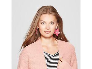 SUGARFIX by Bauble Bar Flower Drop Earrings