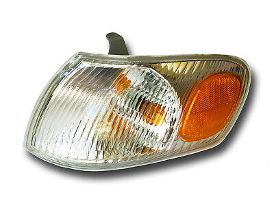 Fits 1998-2000 Toyota Corolla Driver Left Side Signal Parking Light Assembly (Left Side Parking Light)