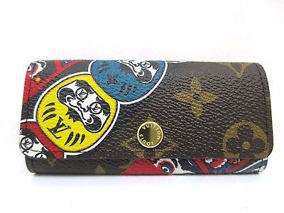 Auth Mint Louis Vuitton Monogram Kansai Yamamoto Multicles 4 M67252 Box 46732
