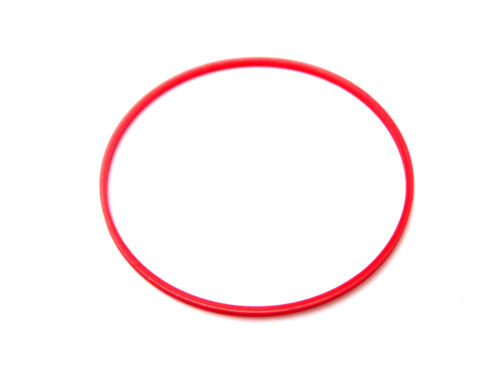Red Plastic Case Back Gasket for Waterproof Watches
