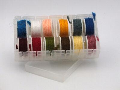 ZZ 7 Yard Spools, Assorted Colors Glitter Body Braided Tinsel