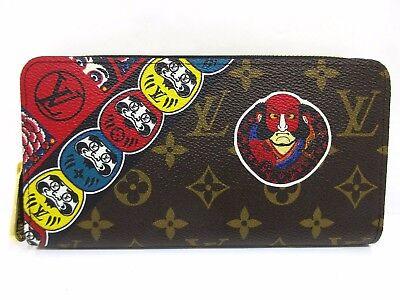 Auth Mint Louis Vuitton Monogram Kansai Yamamoto Zippy Wallet M67249 Box 46731