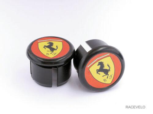 Colnago Ferrari Handlebar Plugs Bar End Caps vintage style retro guidons