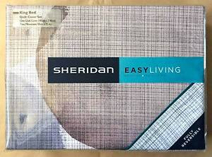 Sheridan Finn King size quilt cover set, RRP $260 Enmore Marrickville Area Preview
