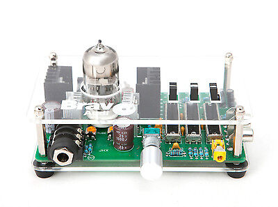 Tube Headphone Amplifier Eq Equalizer Class A Tube Bravo Audio V3