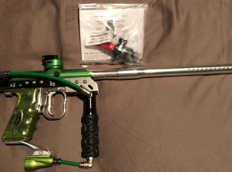 AUTOMAG X-VALVE LEVEL TEN BOLT NEW JOLLY RANCHER GREEN BODY, LOTS MORE TO SEE!!!