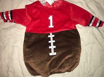 NEW Koala Kids Baby Boy Football Player Costume Size 6-9 Mos - Football Costume Toddler