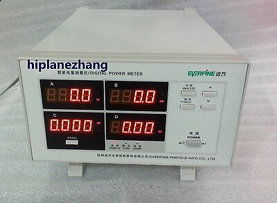 Power Factor Power Meter 5ma-20a Harmonic Distortion Analyzer Rs232 Pf9811