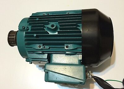 Brook Crompton Electric Motor 2hp 3phase V208208416v Rpm1130