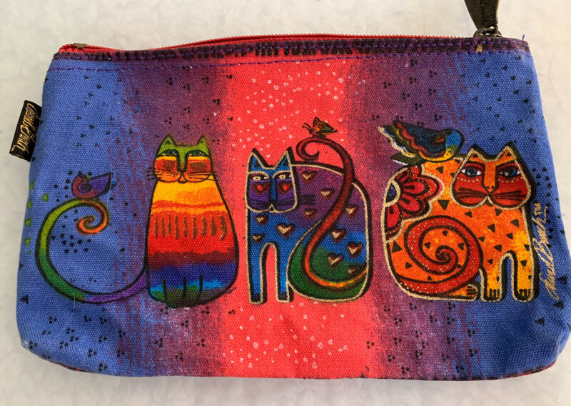 Laurel Burch Cats Makeup Case NEW w/o Tag