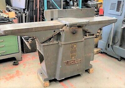 Wadkin Rz 390 Jointer Surface Planner 12