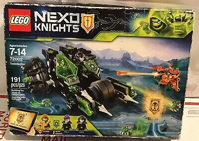 Lego 72002 TWINFECTOR NEXO KNIGHTS pola fred AARON New Sealed Retired