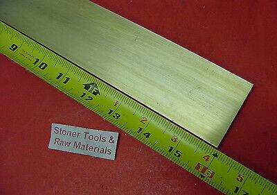 14 X 2 C360 Brass Flat Bar 16 Long Solid .250 Plate Mill Stock H02