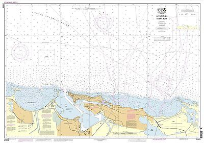 NOAA Chart Approaches to San Juan Harbor 1st Edition 25669