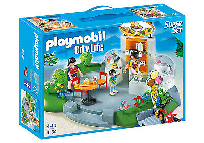 Playmobil - 4134 Ice Cream Parlour SuperSet