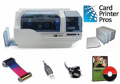 Zebra P330i Card Printer Package/60 day Warranty/Mag Strip Encoder/Ethernet/USB