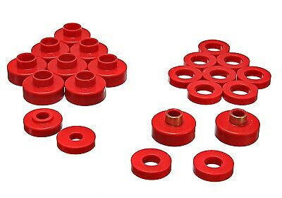 Energy Suspension 2 4103R Cj Body Mount Set