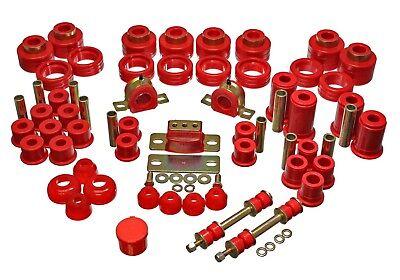 Hyper-Flex System Suspension Bushing Kit fits 1988-2000 GMC C2500,C3500 (Chevrolet R3500 Energy Suspension)